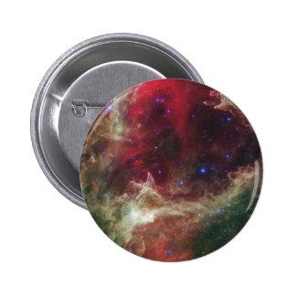 Soul Nebula emission nebulae in Cassiopeia Button