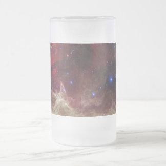 Soul Nebula emission nebulae in Cassiopeia Glass Beer Mugs