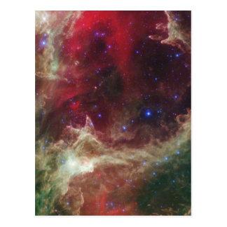 Soul Nebula emission nebulae in Cassiopeia Postcard