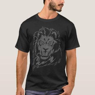 soul of a lion black t-shirt