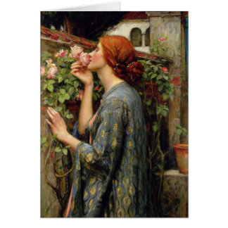 Soul of the Rose by John William Waterhouse Card