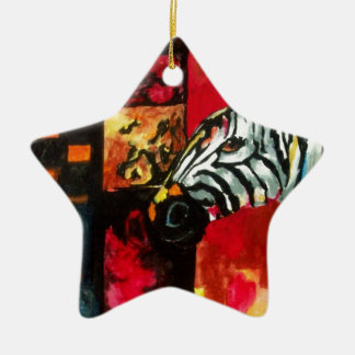 Soul of the Zebra Products Ceramic Star Decoration
