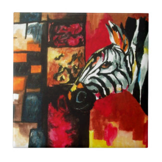 Soul of the Zebra Products Small Square Tile