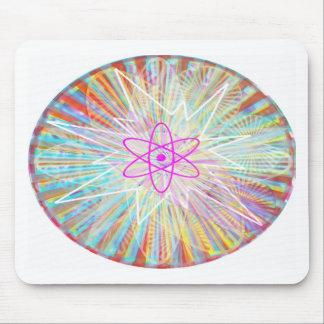 Soul Power : Solar Energy Artistic Design Mouse Pad