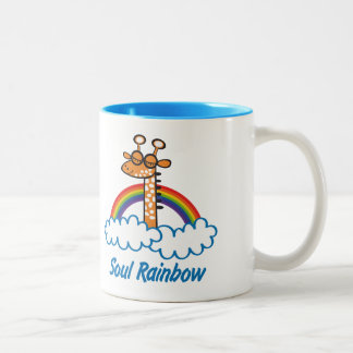 Soul Rainbow Two-Tone Coffee Mug