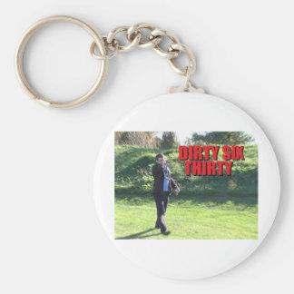 Soul River's Bargain Bin Basic Round Button Key Ring