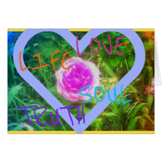 Soul Rose Greeting Card
