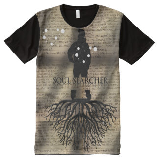 Soul Searcher Deeply Rooted Lyrics All-Over Print T-Shirt