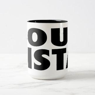 Soul Sista Two-Tone Coffee Mug