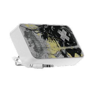 Soul skull doodle iPhone speakers