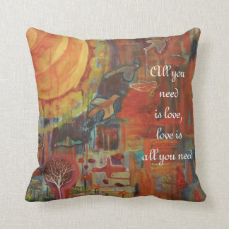 Soul Song Throw Pillow