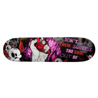 Soul squeeze 20.6 cm skateboard deck