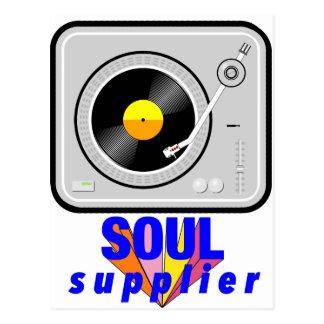Soul Supplier Postcard