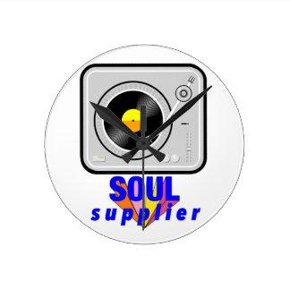 Soul Supplier Round Clock
