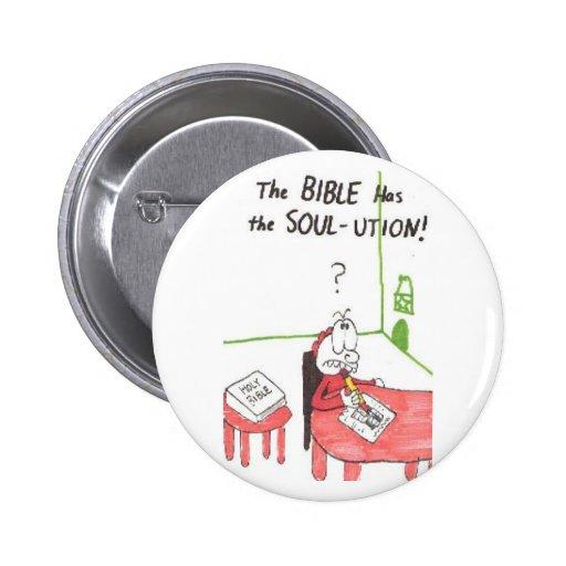 soul-ution = animated funny church sayings pin