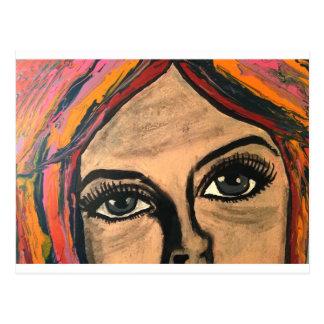 Soulful Eyes Postcard