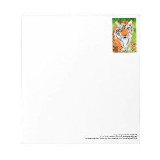 Soulful tiger notepad