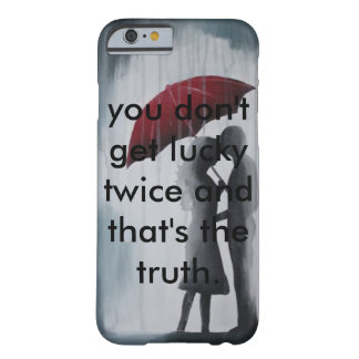 Soulmates Under An Umbrella. Barely There iPhone 6 Case