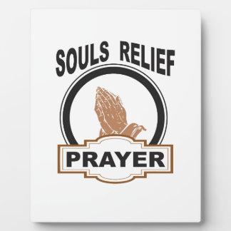 souls relief plaque
