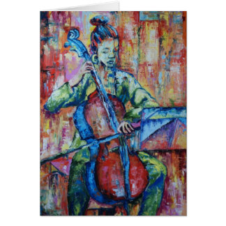 Sound and Music II - Greeting Card