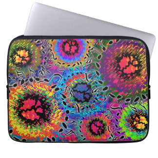 Sound Colors Psychedelic Laptop Sleeve