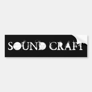 SOUND CRAFT BLACK STICKER BUMPER STICKER