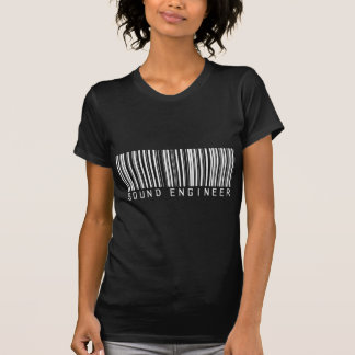 Sound Engineer Bar Code Shirt