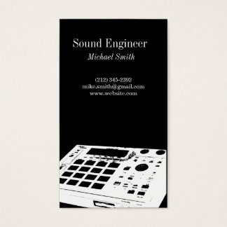 Sound Engineer Business Card