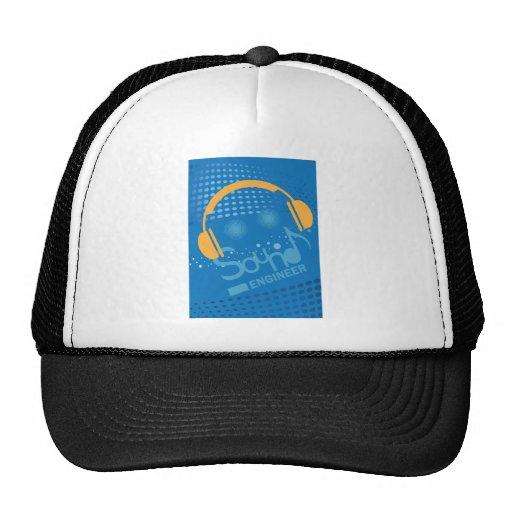 Sound Engineer DJ or music producer Trucker Hats