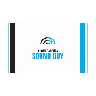 Sound Guy (5a) Pack Of Standard Business Cards