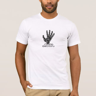 Sound Identity (fitted white) T-Shirt