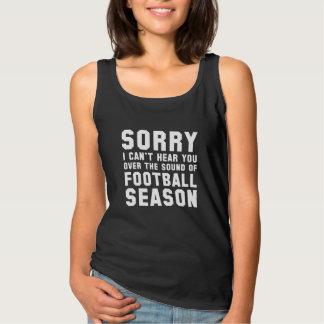Sound Of Football Season Singlet