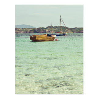 Sound of Iona Clear Blue Water Postcard