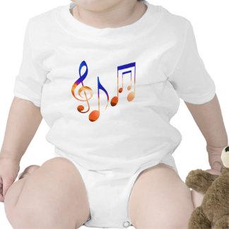 Sound of Music - Dancing Symbols Tshirt