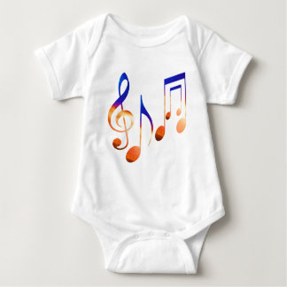 Sound of Music - Dancing Symbols Tshirts