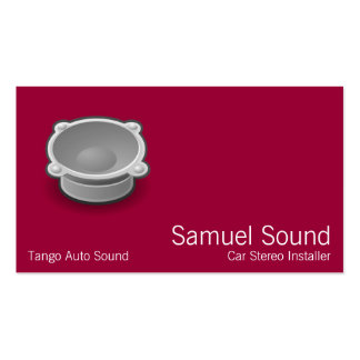 Sound Pack Of Standard Business Cards
