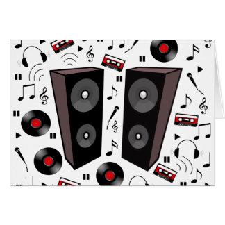 Sound pattern card