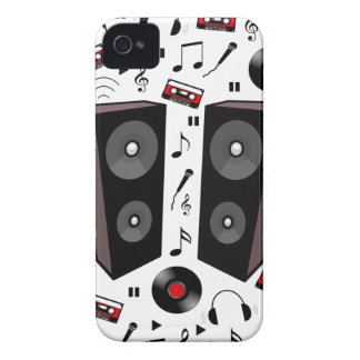 Sound pattern iPhone 4 Case-Mate cases