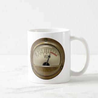 Sound Recordist's VU Meter Steampunk Mug
