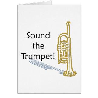 Sound the Trumpet Card