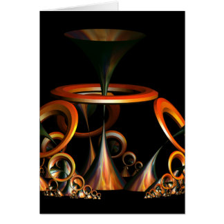 Sound The Trumpets Greeting Card