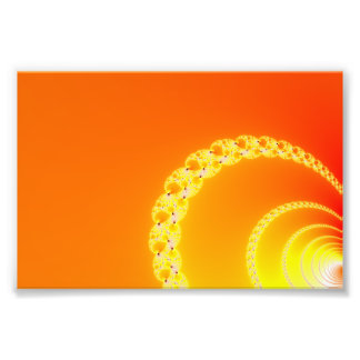 Sound Waves Fractal Art Photographic Print