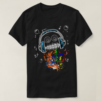 Sound Waves Music Mech T-Shirt