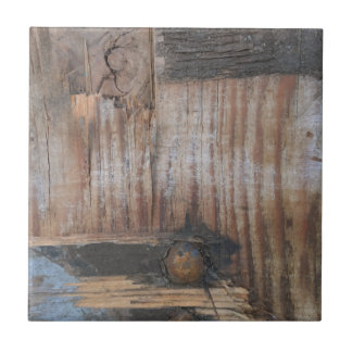 Sound Wood I Small Square Tile