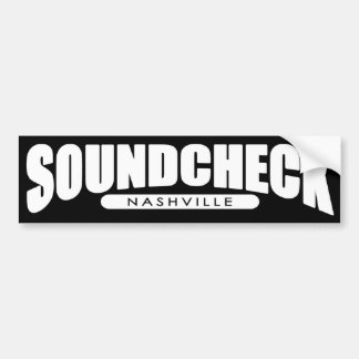 Soundcheck Nashville Bumper sticker