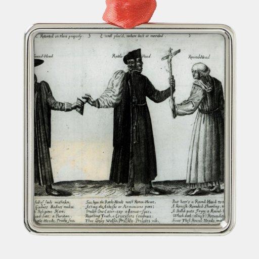 Soundhead, Rattlehead, Roundhead Ornament