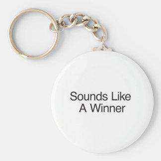 Sounds Like A Winner Keychain