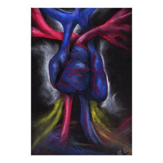 Sounds Of A Blue Heart Original Art Photo Print