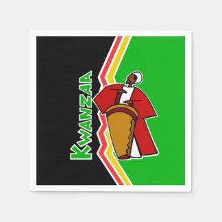 Sounds Of Kwanzaa Kwanzaa Party Paper Napkins
