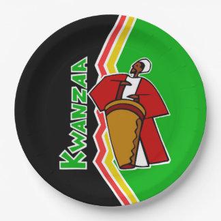 Sounds Of Kwanzaa Kwanzaa Party Paper Plates